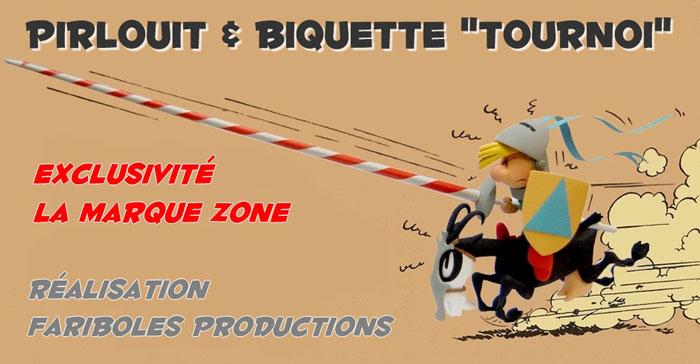 """Pirlouit & Biquette """"Tournoi"""" par Fariboles 02"""