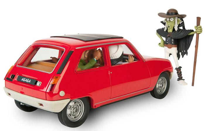 La Renault R5 et l'Ankou dans la collection Aroutcheff / Figures & Vous 01