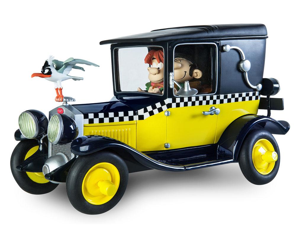 La Fiat 509 de Gaston dans la collection Le Garage de Franquin 01Z