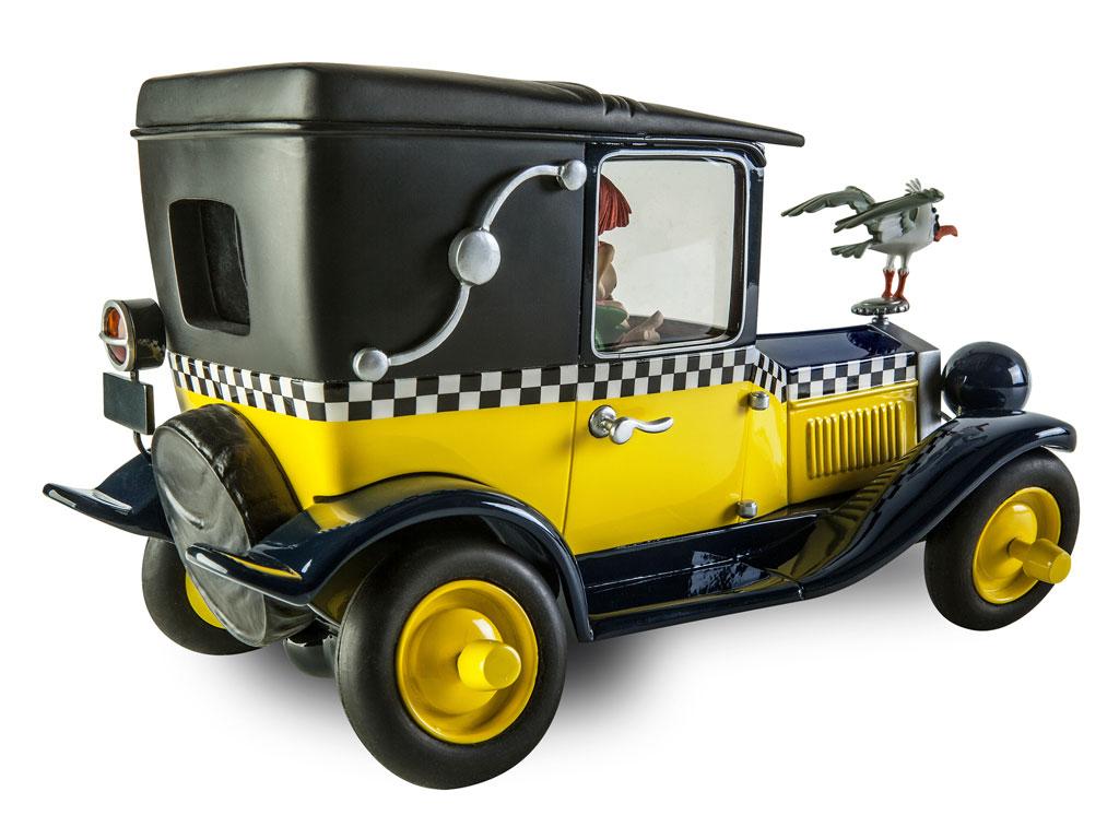La Fiat 509 de Gaston dans la collection Le Garage de Franquin 03Z